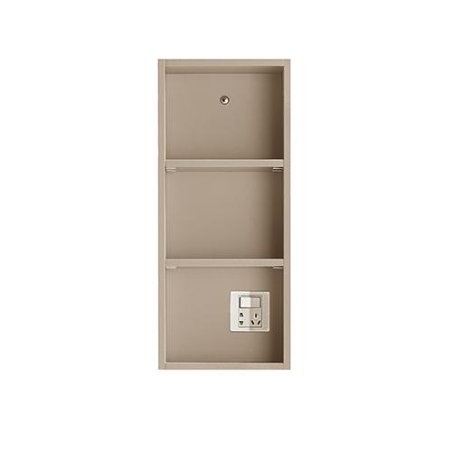 N6侧柜[搭配镜柜,含插座]