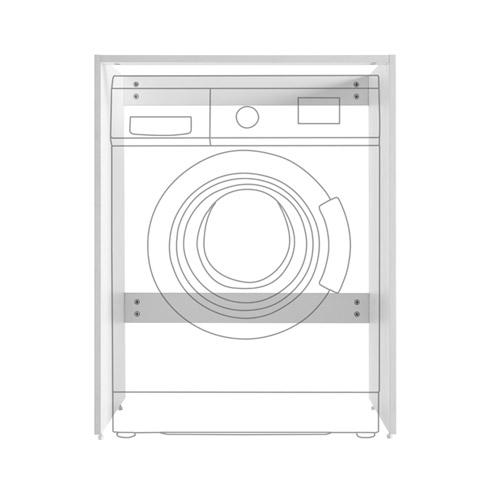 洗衣机柜(不含台面/洗衣机)